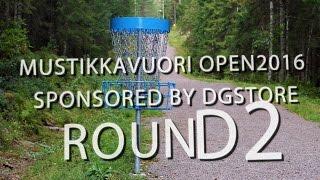 lcgm8 Disc Golf - Mustikkavuori open 2016 Round 2
