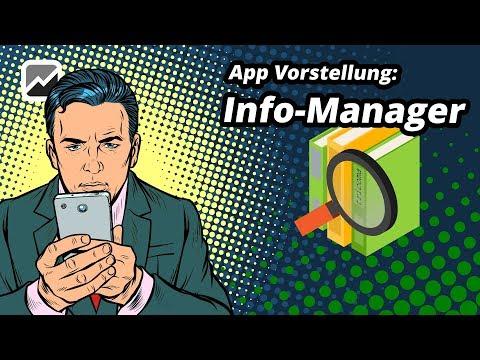 tricoma - App Info Manager - Nie wieder wichtige Informationen vergessen