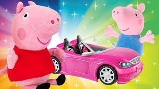 Свинка Пеппа и машинки. Видео для детей. Сборник мультфильмов