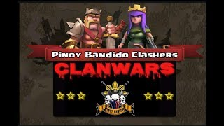 "Clash of Clans: ""Battle of CPU Affiliated Clans"" Pinoy Bandido 5 vs. OFW Champs II"