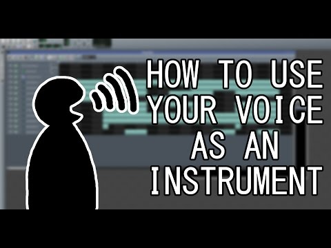 [LMMS] How To Make a Melody with YOUR OWN Voice!