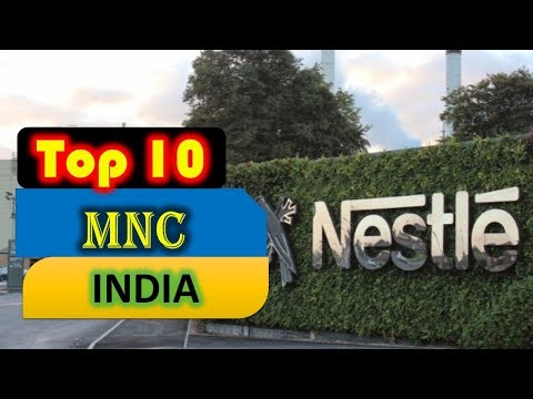 Top 10 Multinational Companies in India 2018