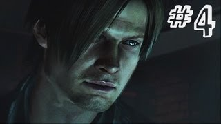 Resident Evil 6 Gameplay Walkthrough Part 4 - TRAIN RAGE - Leon / Helena Campaign Chapter 1 (RE6)