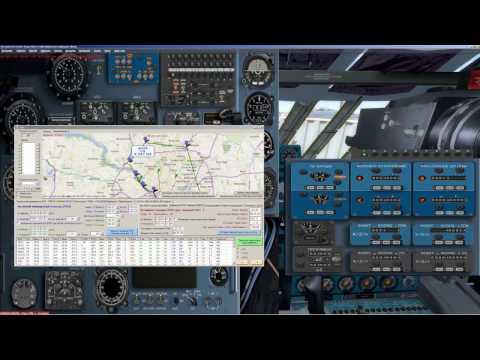 Prepar3D [P3D] | IL 76 | Manual | Tutorial | KDCA-KJFK  | on English | Native Navigation | part 2