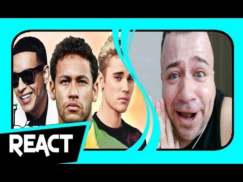 REACT ♫ É O NEYMITO   Paródia DESPACITO - Luis Fonsi, Daddy Yankee Ft Justin Bieber ‹ TIAGO REACT ›