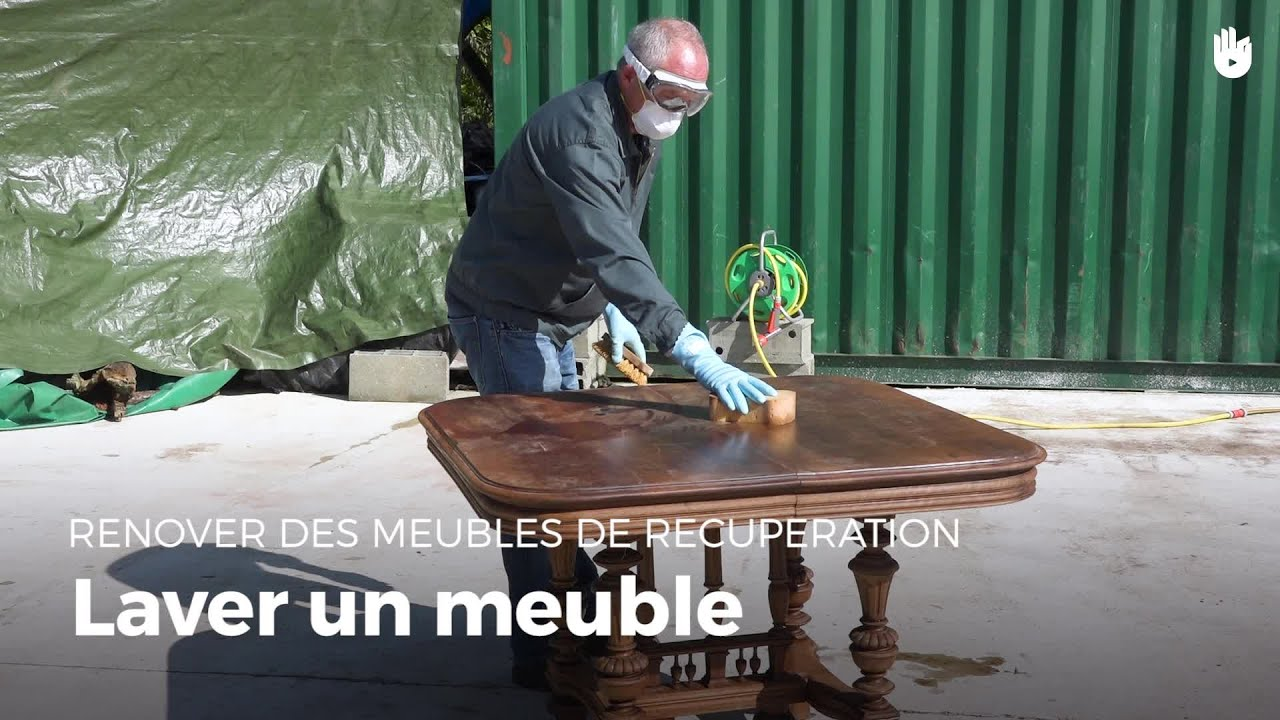 Nettoyer Un Meuble  Rénovation De Meubles Youtube