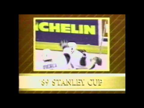 1989 Smythe Division Finals, Game 1 - CGY vs LA (CBC INTRODUCTION)