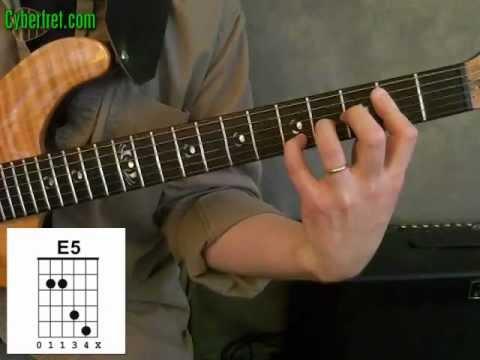 E5 Power Chord - YouTube