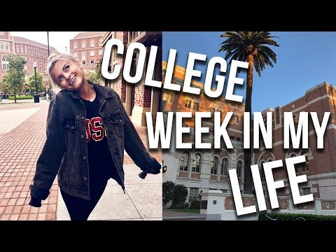 COLLEGE WEEK IN MY LIFE | Tasha Farsaci
