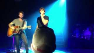 billy currington let me down easy live