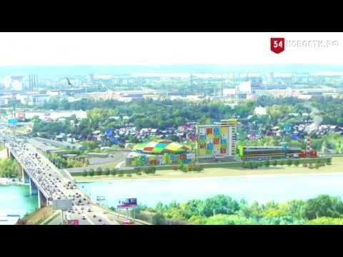 В Новосибирске строят самый большой аквапарк в России