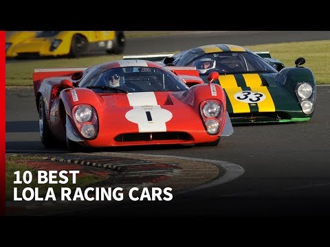 These Are The 10 Greatest Lola Racing Cars In Its 60-year History