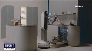 CES 2021 -  Samsung shows off robot, new TVs