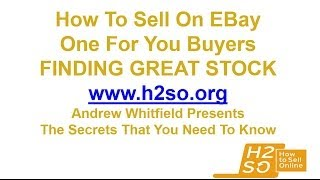 How To Sell Online Make Money Wholesale Buying Selling Ebay Find Stock Amazon Gumtree Car Boot