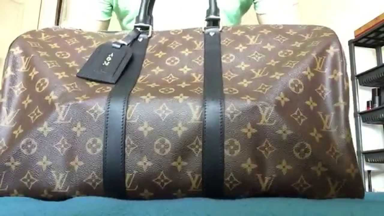 682327b9a9a2 Louis vuitton keepall macassar youtube jpg 1280x720 Monogram macassar lv  speedy bandouliere 45