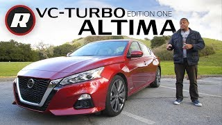 2019 Nissan Altima Review: Edition One gets VC-Turbo power and free concierge