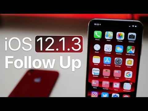 iOS 12.1.3 - Follow Up and more