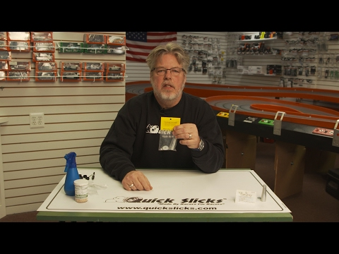 Cloverleaf Racing's How-To Glue Tires for 1:32 Scale Slot Car