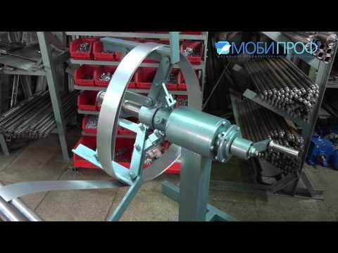 Станок для производства металлических уголков Мобипроф УП 60x60 20