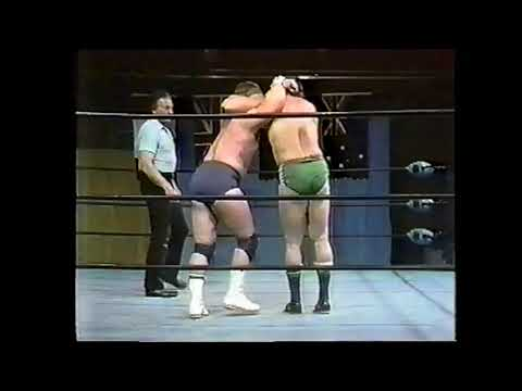 Dino Bravo vs Len Denton Mid Atlantic Studio 1979
