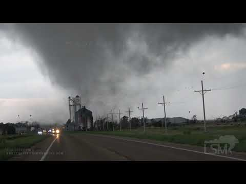 05-24-2021 Selden, KS - Massive Tornado Rips Through Town!