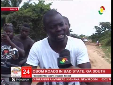 Residents At Obom Call On Gov't To Fix Bad Roads  - 12/11/2016