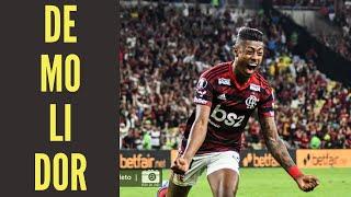 Flamengo buscou a vitória. Inter tentou abraçar o 0 a 0. E o castigo veio com gols de Bruno Henrique