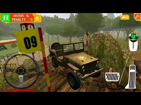 4 x 4 Dirt Offroad Parking: New Car ARMY 4x4  Unlocked - Android GamePlay FHD