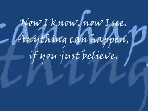 I Believe In You with Lyrics (by: JOE)