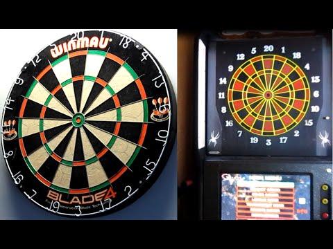 Comparing Dartboard Segment Sizes Steel Tip v Soft Tip