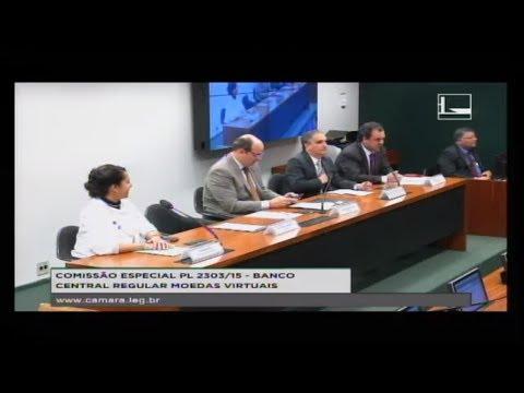 PL 2303/15 - BANCO CENTRAL REGULAR MOEDAS VIRTUAIS - Reunião Deliberativa - 30/08/2017 - 15:05
