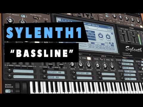 """SYLENTH1 - """"Sound Design""""- Cómo hacer 1 Bassline para Progressive - Tutorial"""