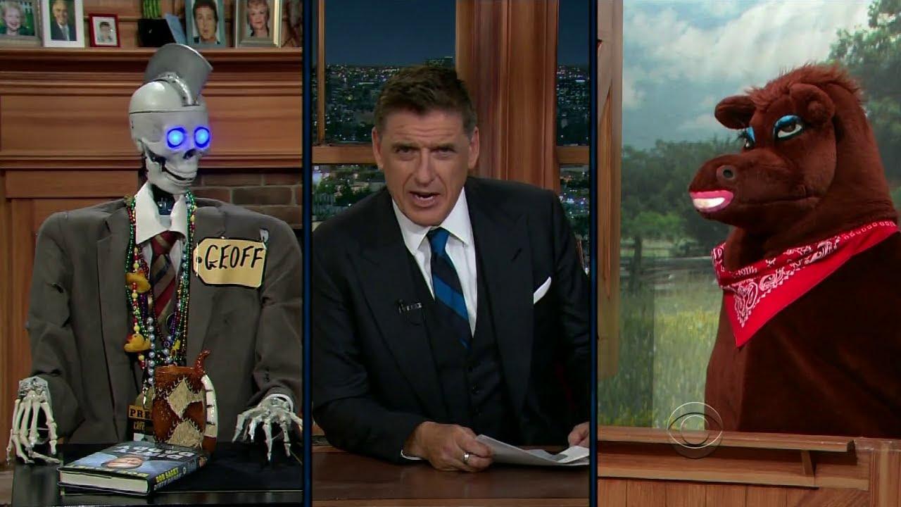 Late Late Show with Craig Ferguson 6/9/2014 Bob Saget, Ashley Madekwe