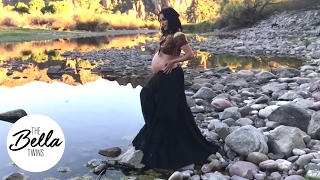FINAL MATERNITY PHOTO SHOOT! Brie Bella is the ultimate bohemian mama!