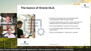 How does an Oracle ULA work?  Watch this to learn if you keep your licenses when your ULA end