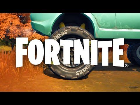 Los neumáticos todoterreno Chonkers llegan a la isla de Fortnite