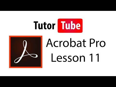 Adobe Acrobat Pro Tutorial - Lesson 11 - Image To Text