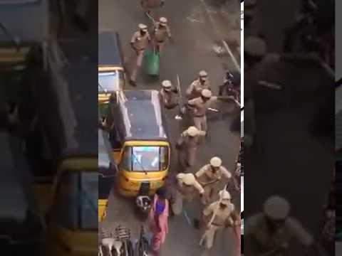 POLICE ATROCITY On JALLIKUTTU PROTEST Tamil Nadu