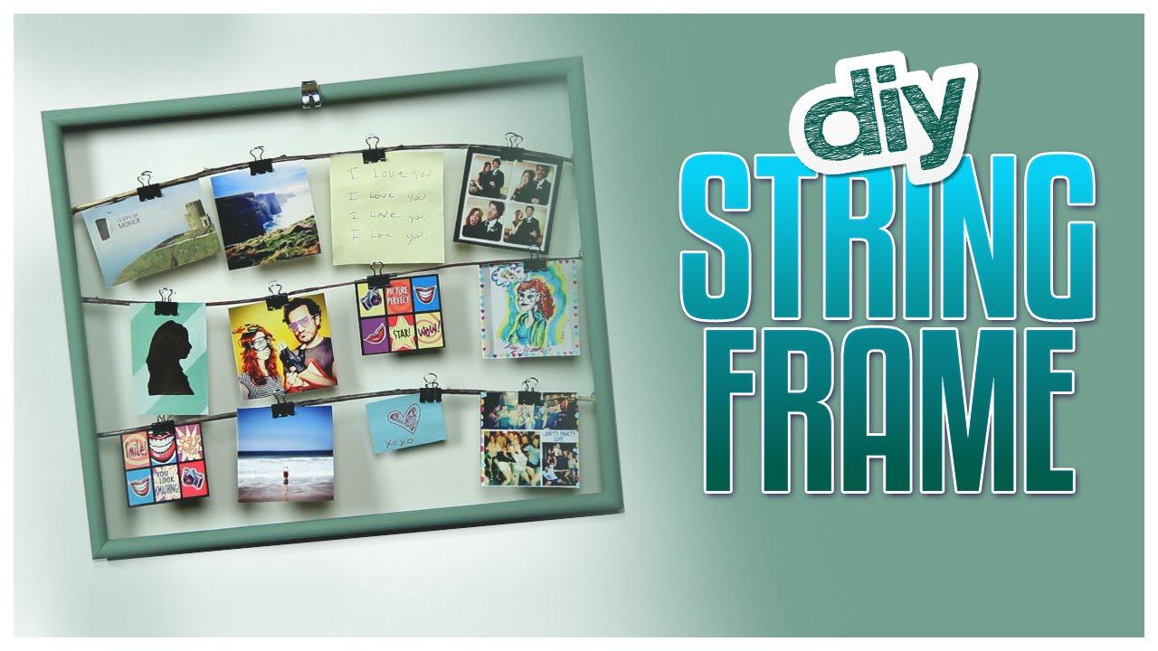 DIY String Frame! - Do It, Gurl - YouTube