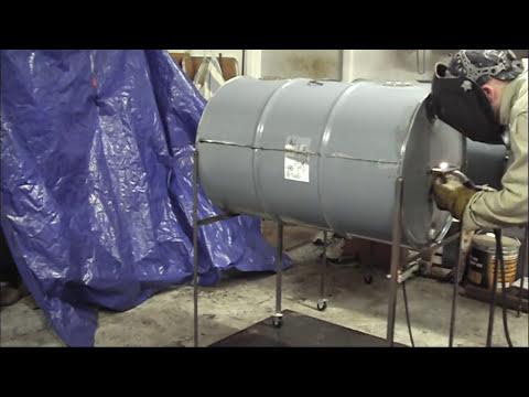 55 Gallon Drum Barbecue