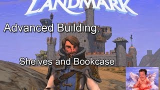 Everquest Next Landmark Building Shelves And Bookcase