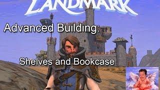 Everquest Next Landmark Building Shelves And Bookcase