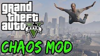 GTA V CHAOS MOD Speedrun - A New Chaotic Effect Every 15 Seconds!
