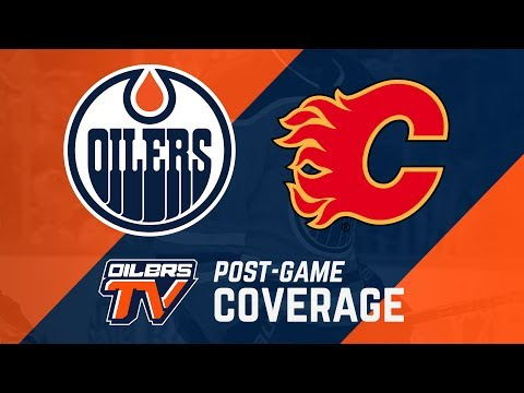 ARCHIVE | Post-Game Coverage – Oilers vs. Flames