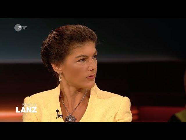 Sahra Wagenknecht spricht Klartext bei Markus Lanz!