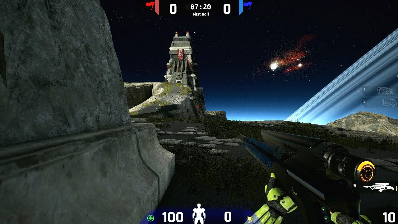 Unreal Tournament 2015 Pre-Alpha: Facing Worlds CTF (Linux ...