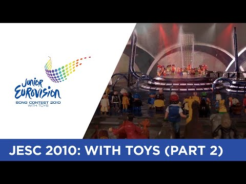 Junior Eurovision Song Contest 2010 - With Toys (Part 2)