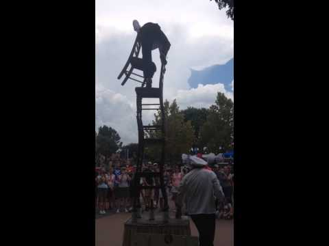 EPCOT Acrobats in France!!!