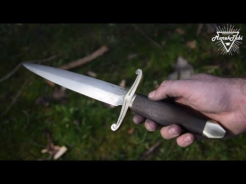 How to make damascus Dagger