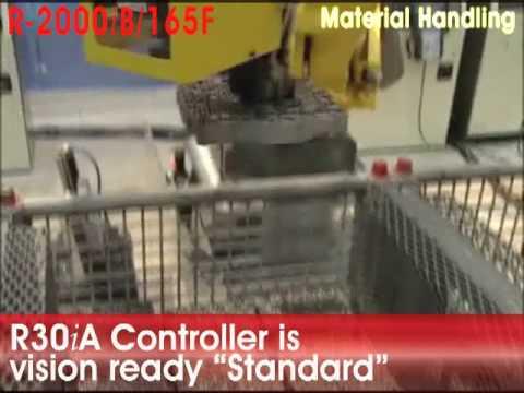 Machine Tending FANUC R-2000iB/165F Robot - FANUC Robotics